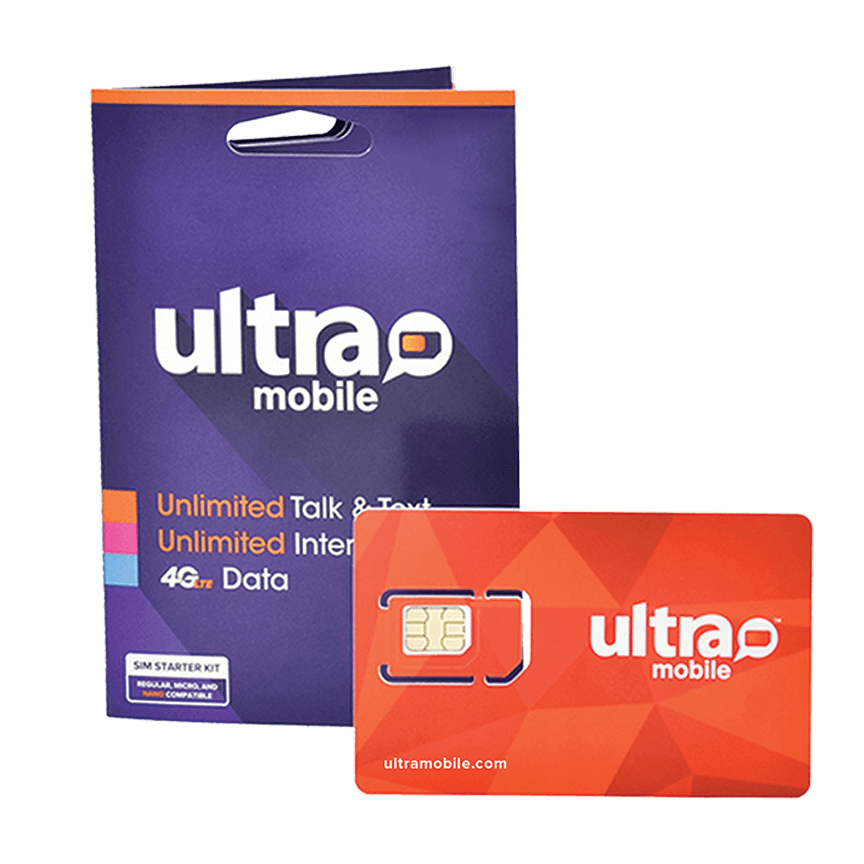 Ultra Mobile Travel Sim Cards