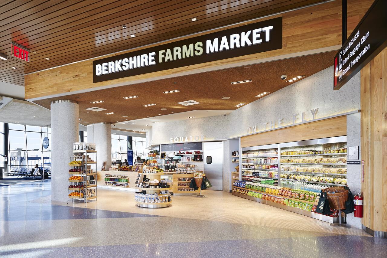 berkshire farm market boston airport