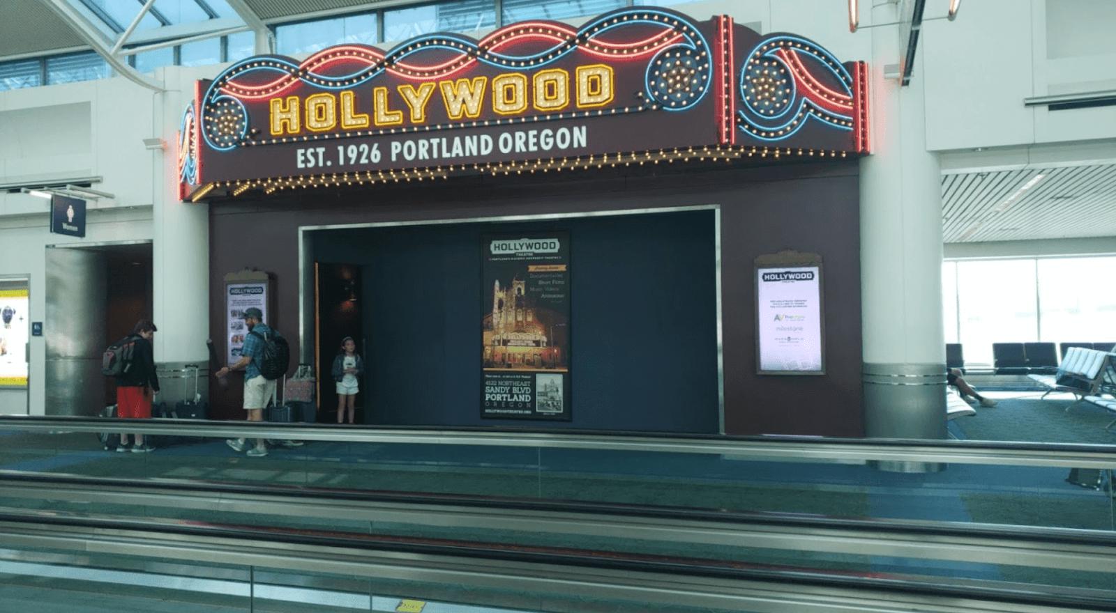 Portland Airport Movie Theater