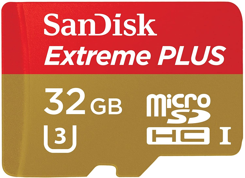 SanDisk 32GB Extreme MicroSDHC Memory Card