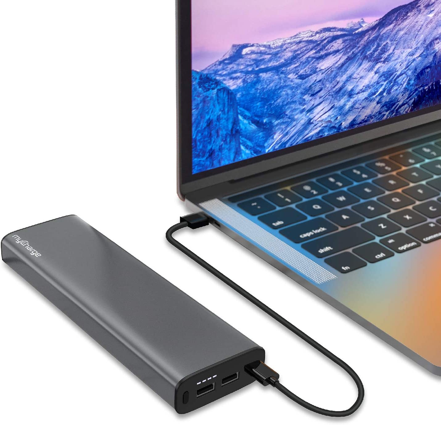 myCharge myLaptop 26800 portable laptop charger charging macbook