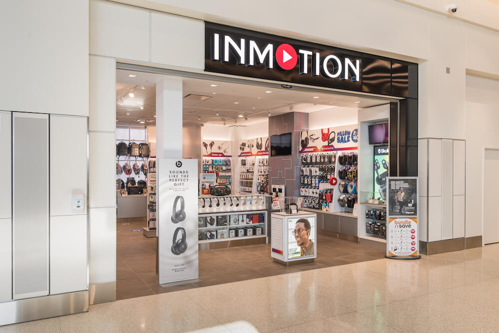 InMotion Airport Storefront
