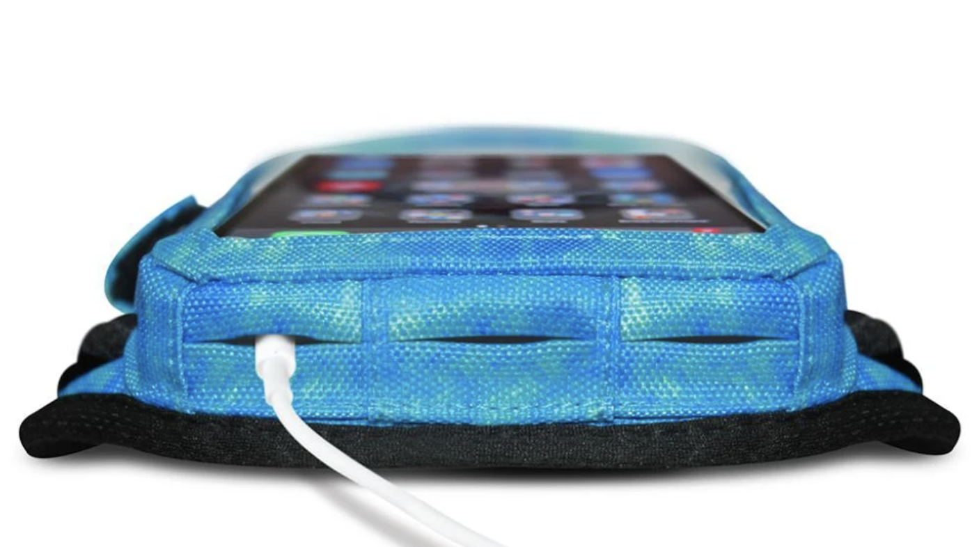 blue armband for the iphone