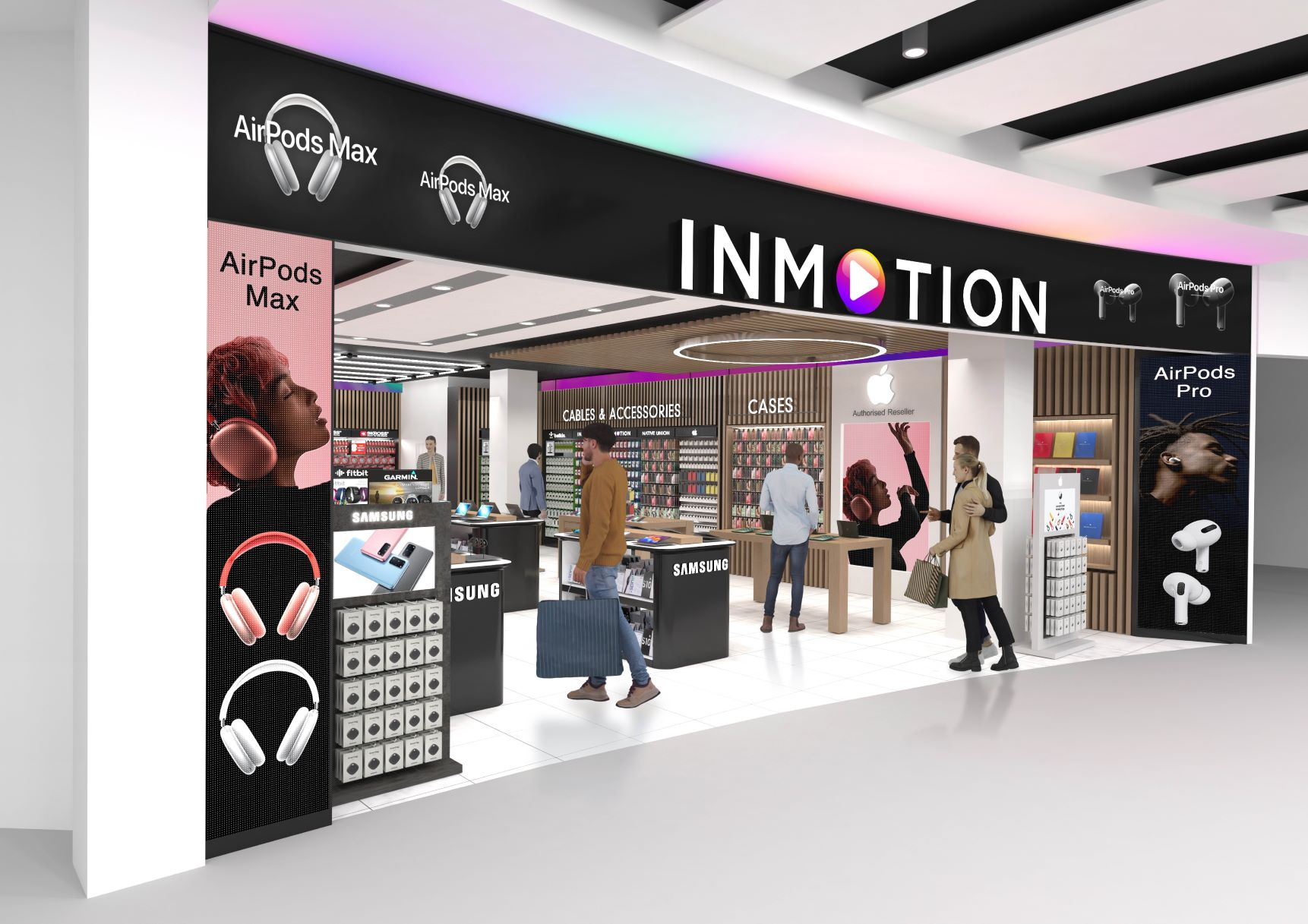 InMotion Stores Heathrow Rendering