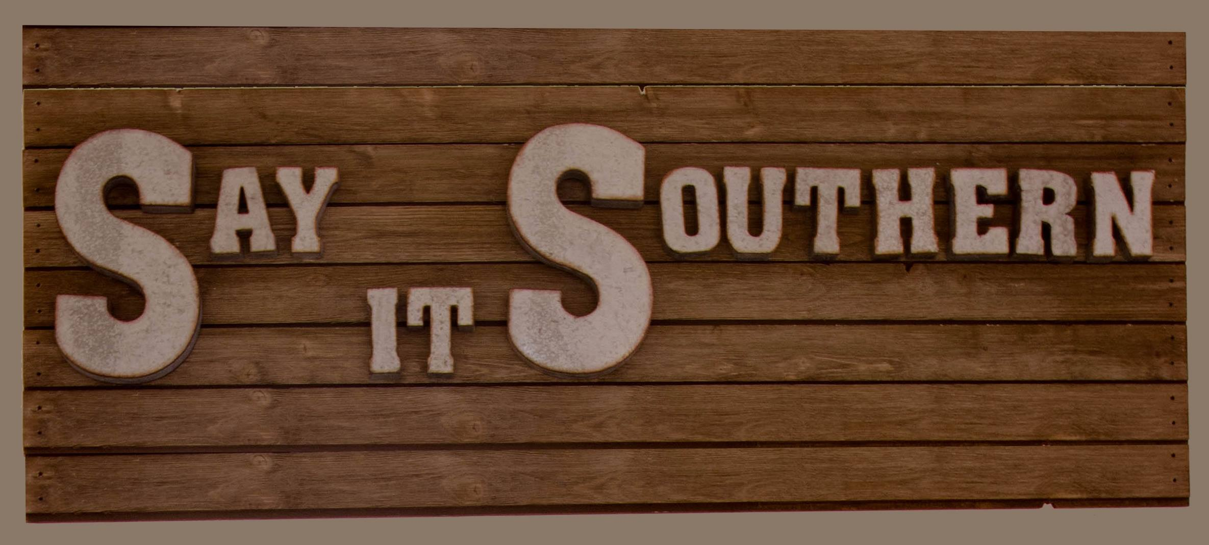 Say It Southern