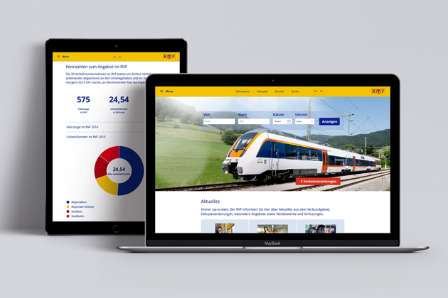Webportal RVF
