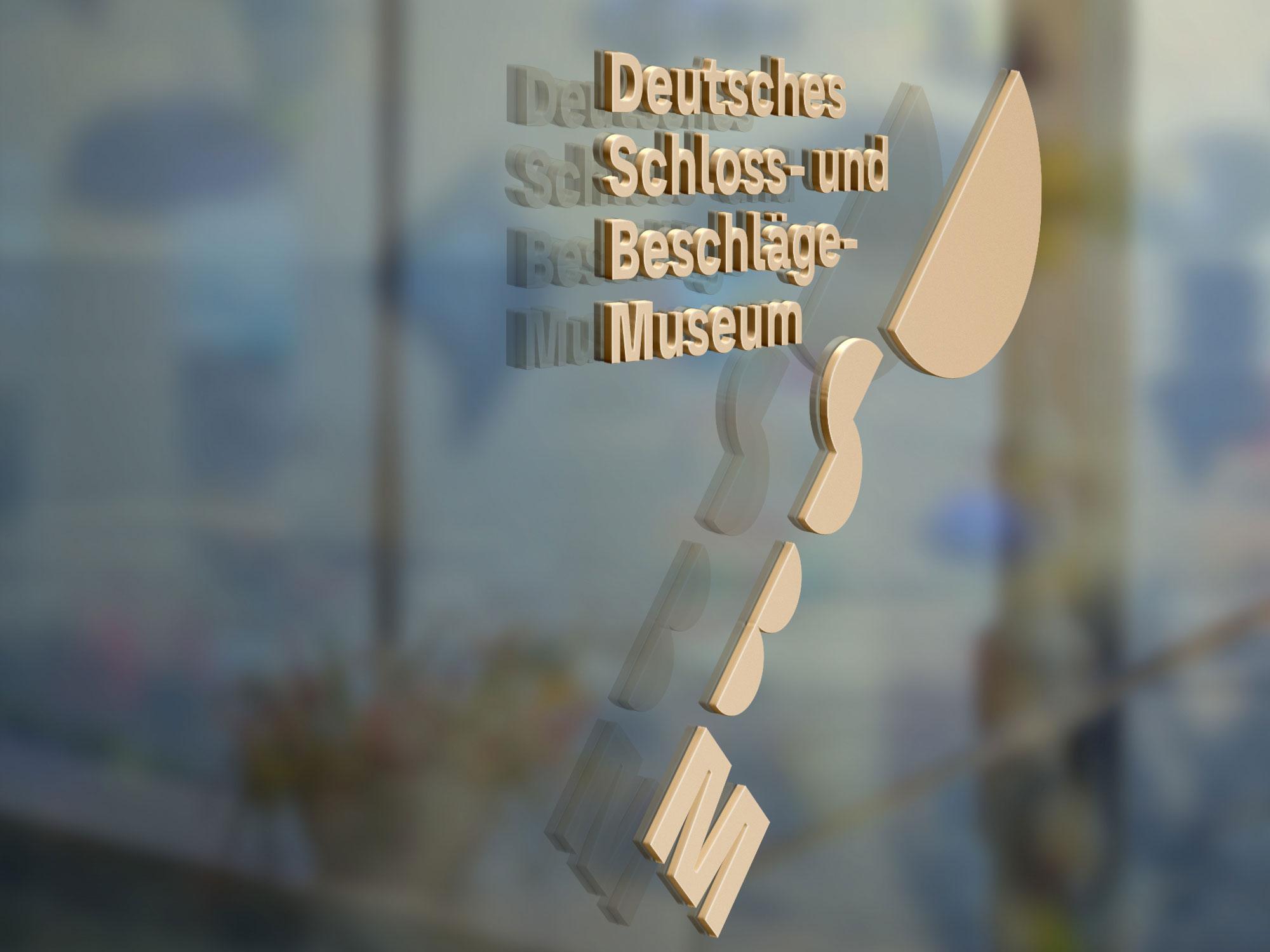 Logo Deutsches Schloss- und Beschlägemuseum