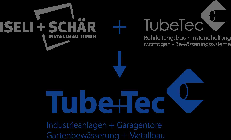 Fusion Iseli-Schär Metallbau und TubeTec