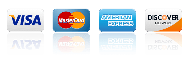 prime electric accepts all major credit cards