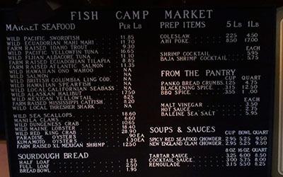 thumbnail of seafood market menu