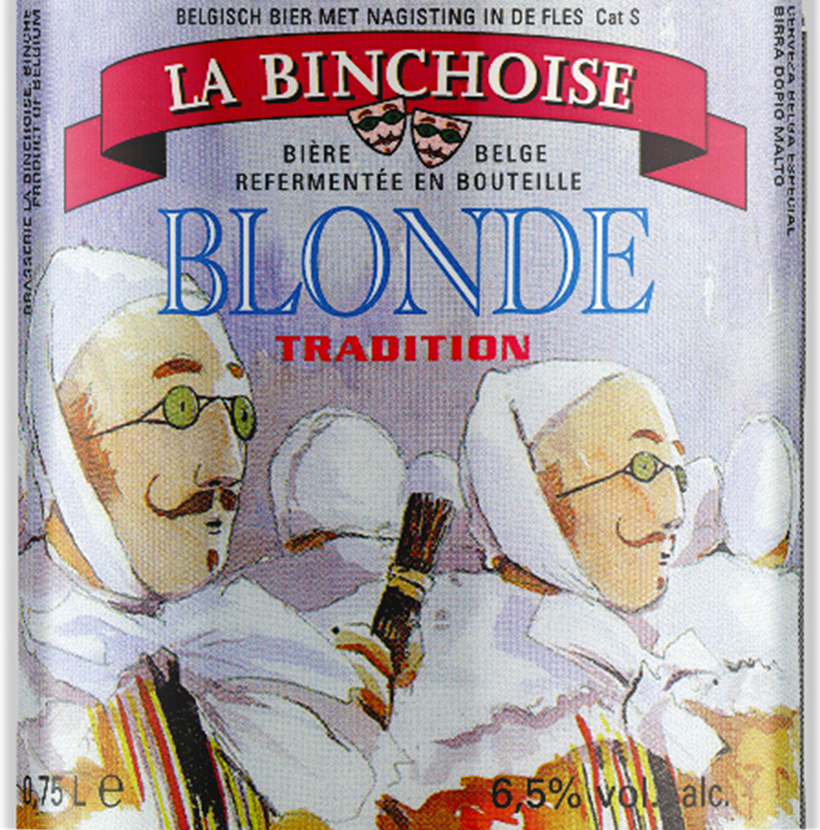 Label La Binchoise Blonde
