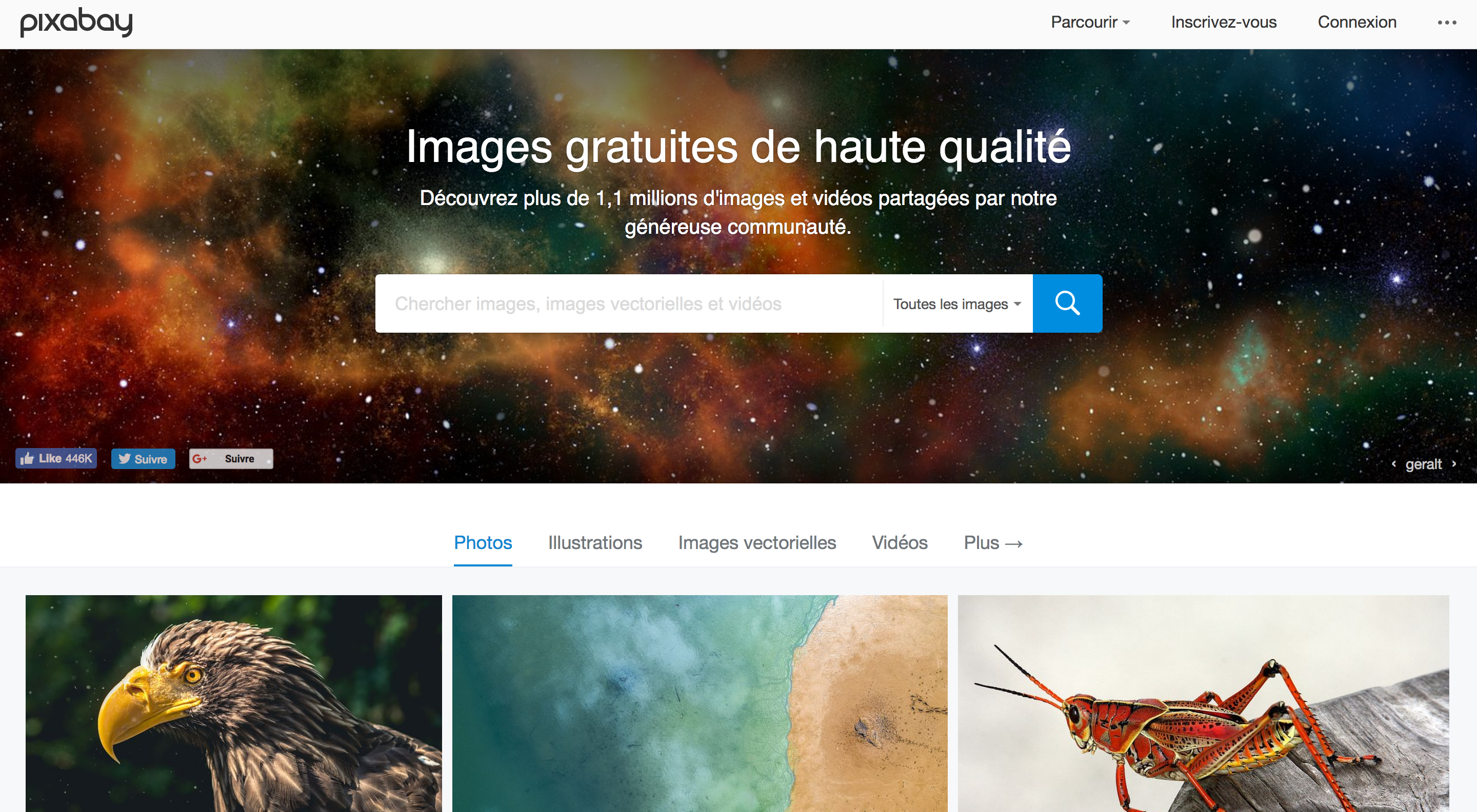 sites de photos gratuites et de qualité