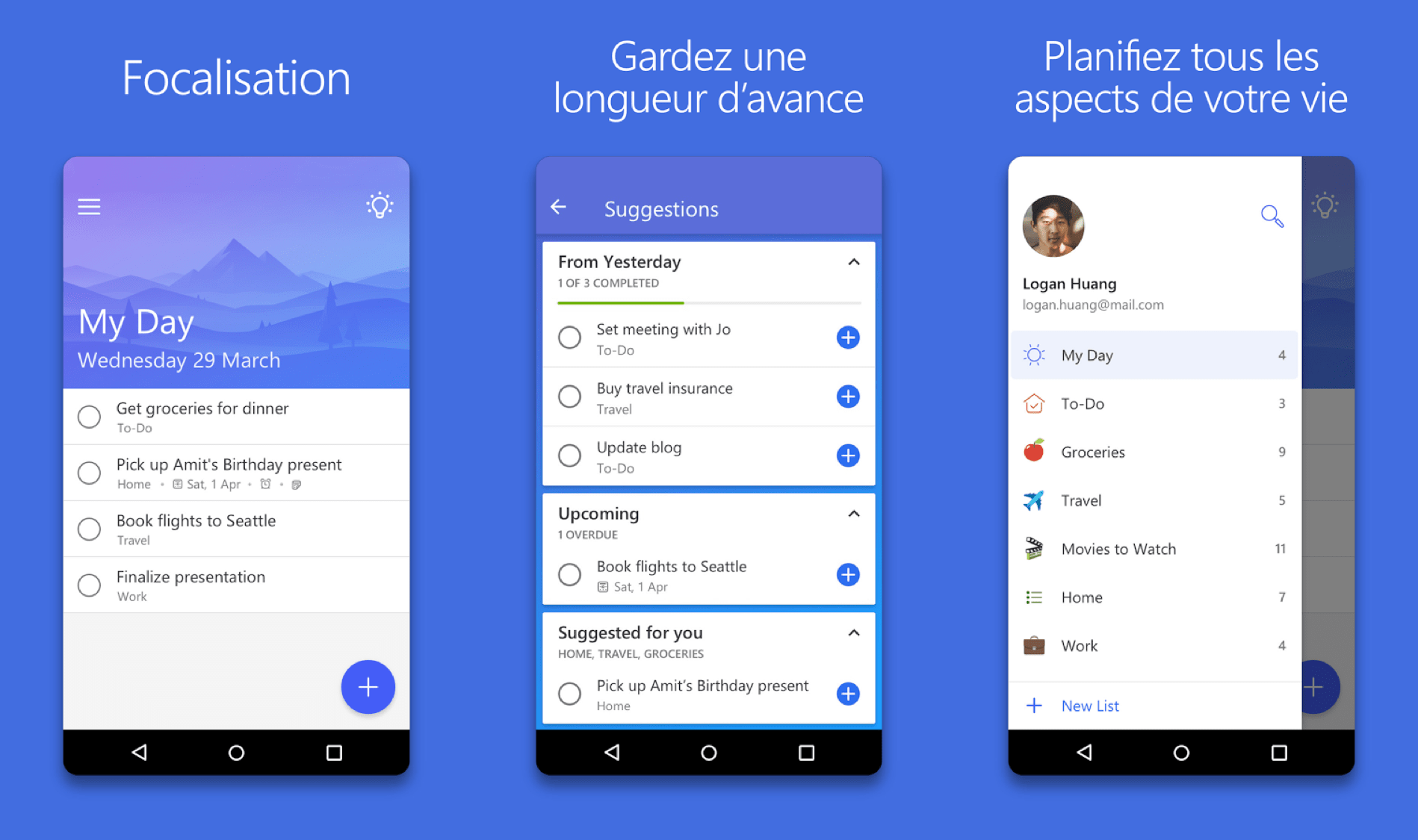 applications gratuites de TO-DO List