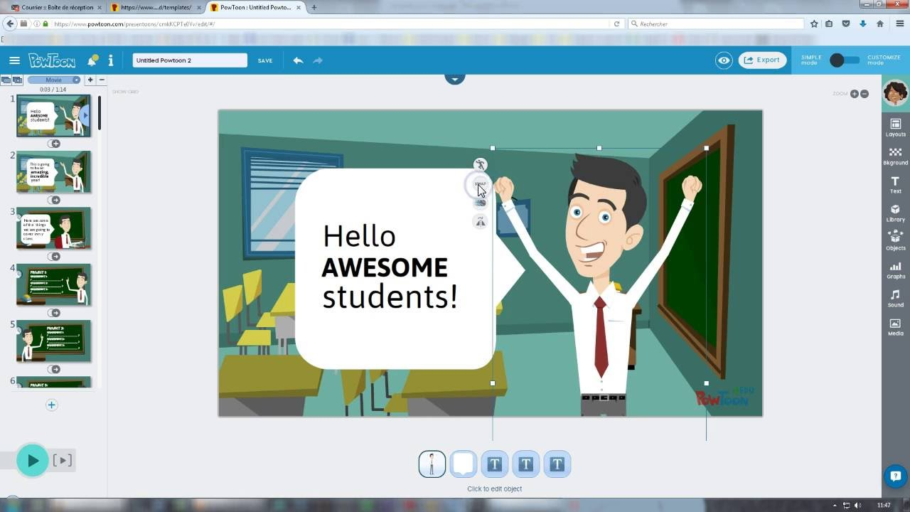 Powtoon, l'une des meilleures alternatives gratuites à PowerPoint