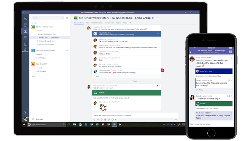 Teams, l'outil de communication interne de la suite Office 365 Business