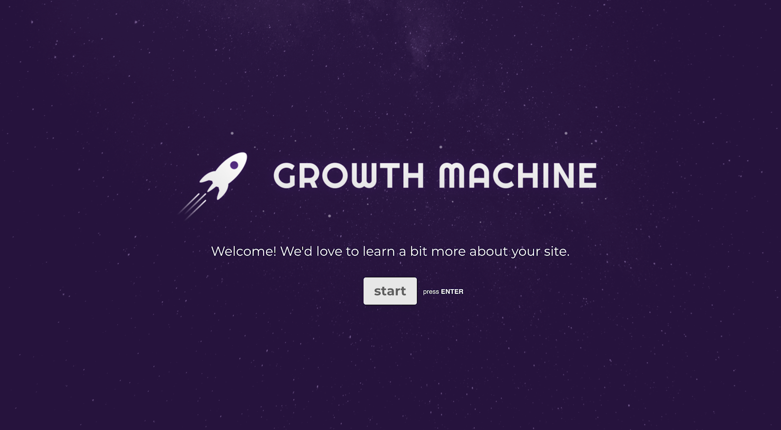 growth machine typeform screenshot