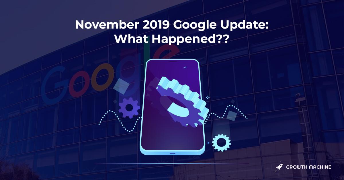 November 2019 Google Update