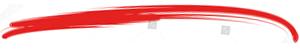 red brush mark