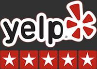Yelp 5 star logo