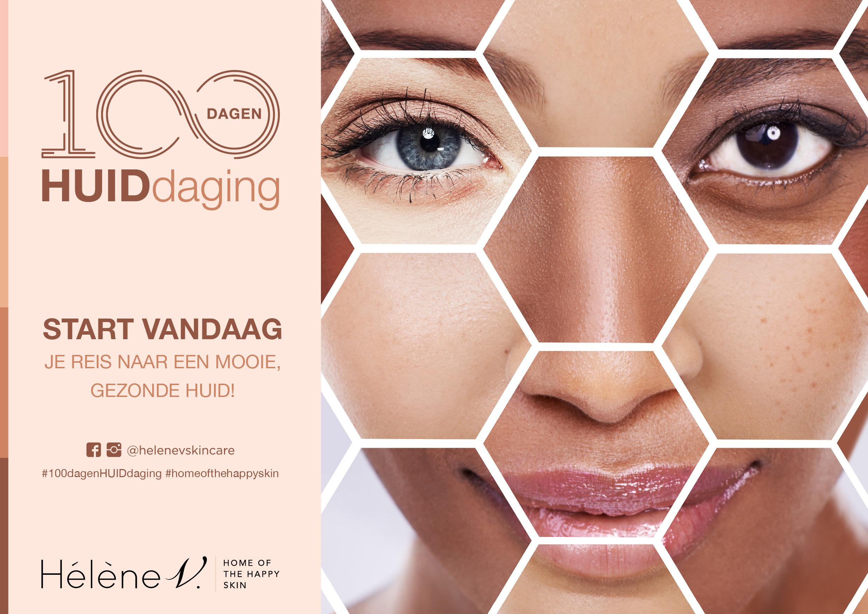 Ga de #100dagenHUIDdaging aan. De huid van je dromen start vandaag!