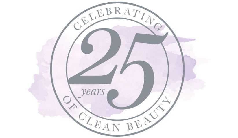 25 jaar clean beauty!