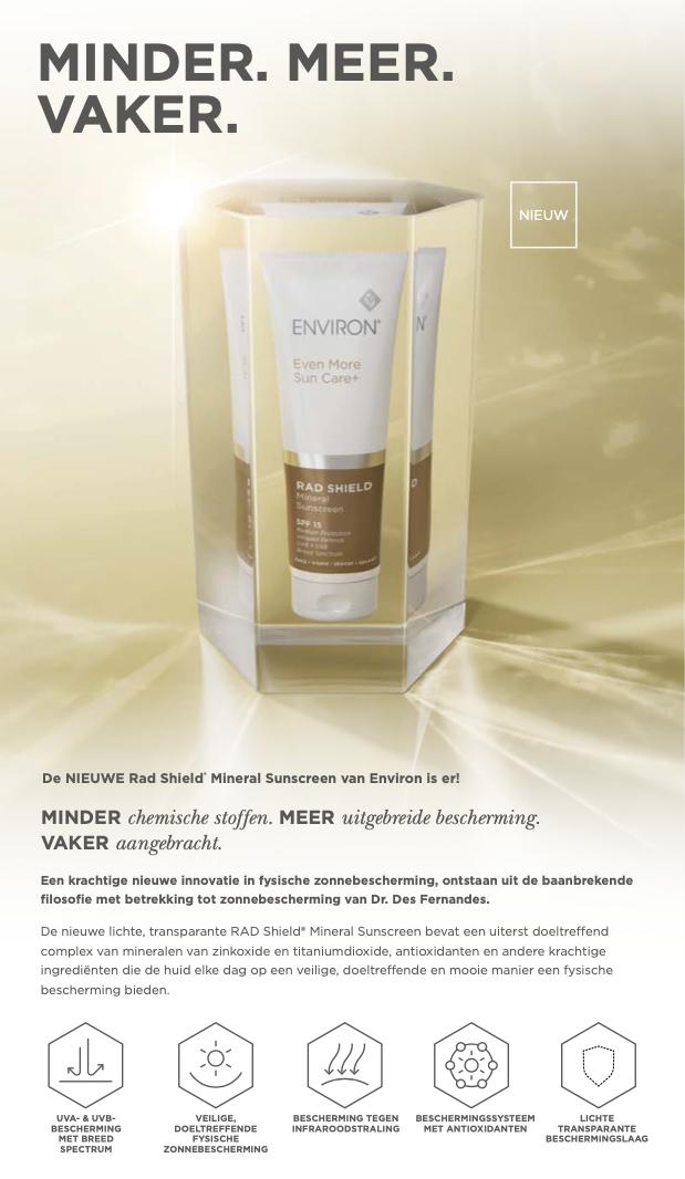 RAD SHIELD Mineral Sunscreen SPF 15 125 ml