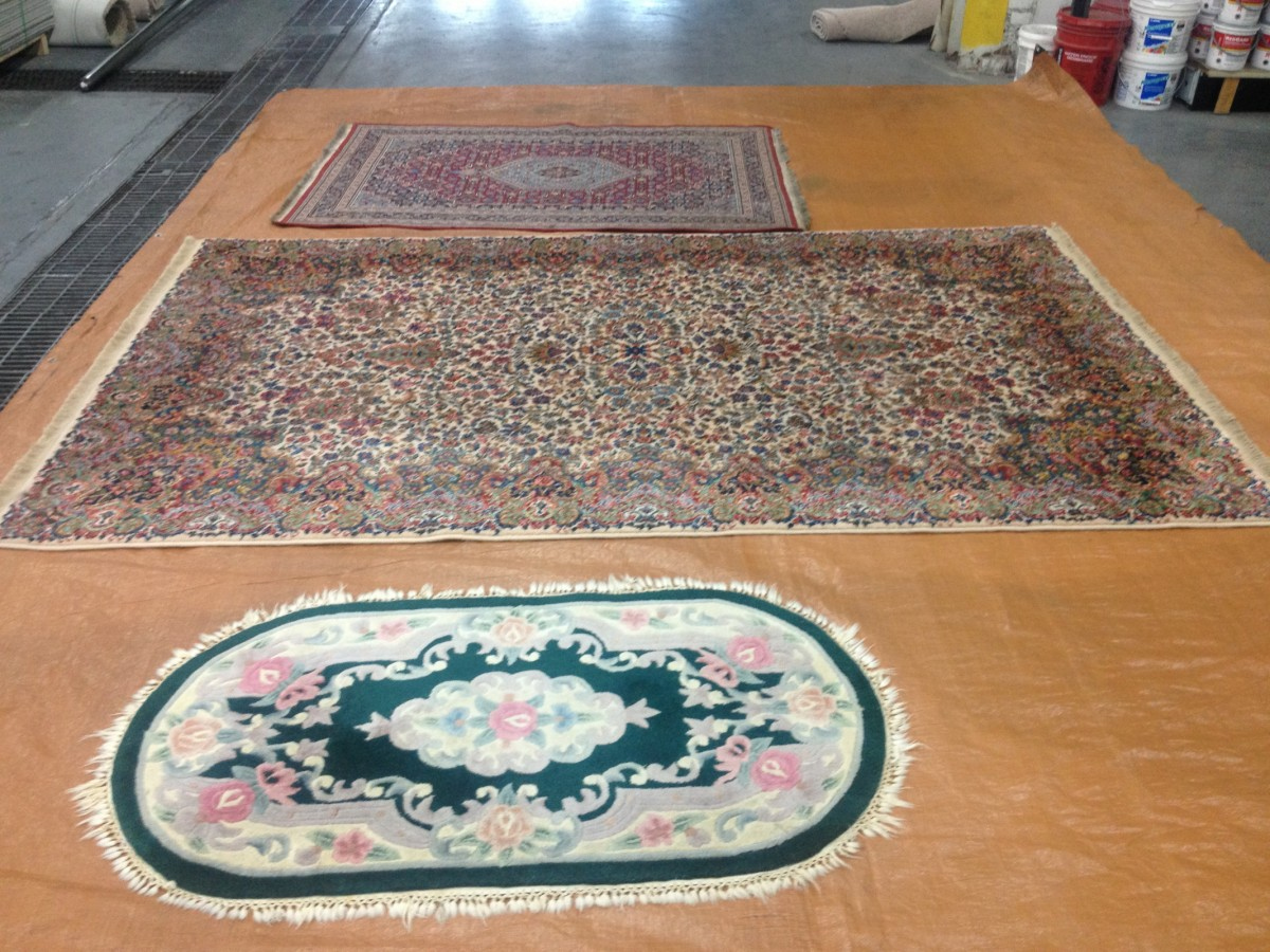 Rug cleaning and repair
