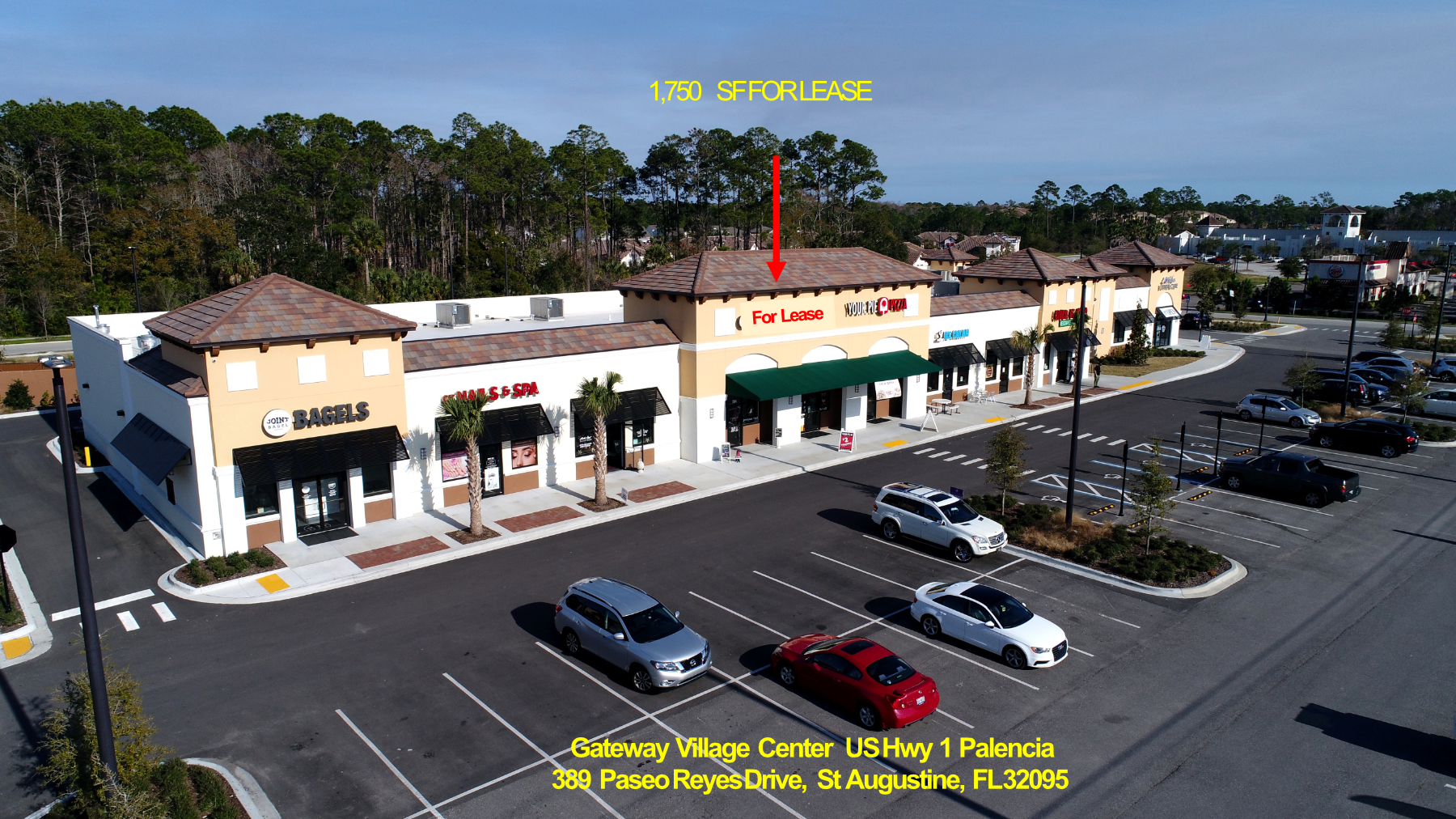 Retail Space Available St. Johns