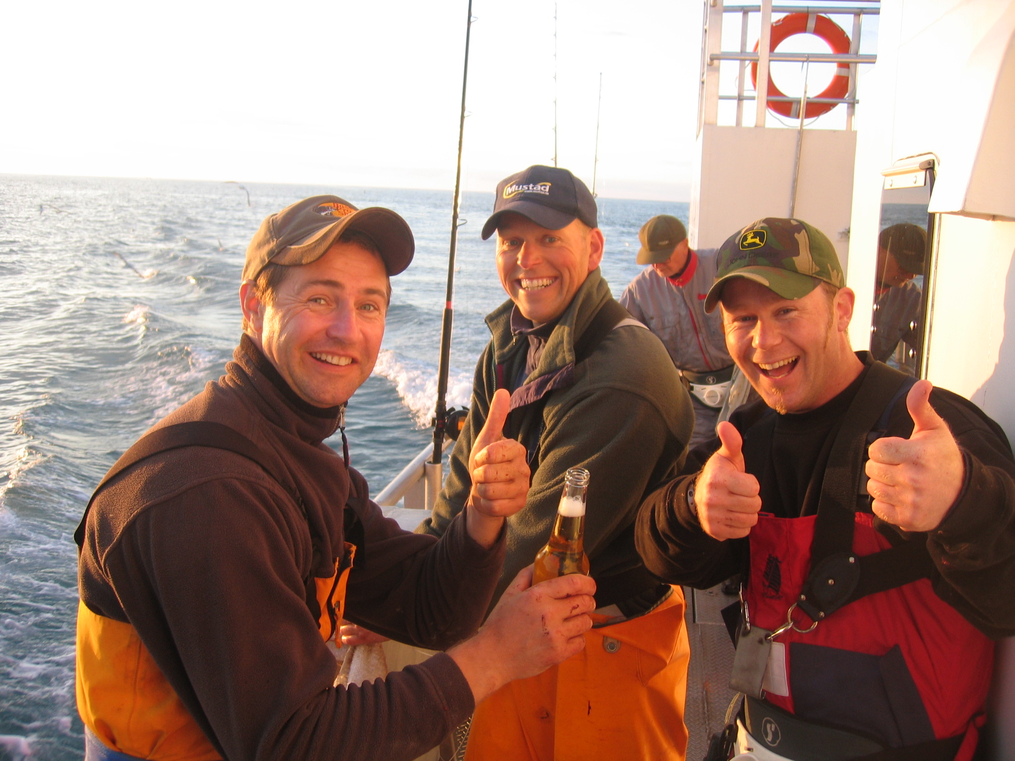 Deep Sea Fishing at the west coast of Finnmark, Northern Norway