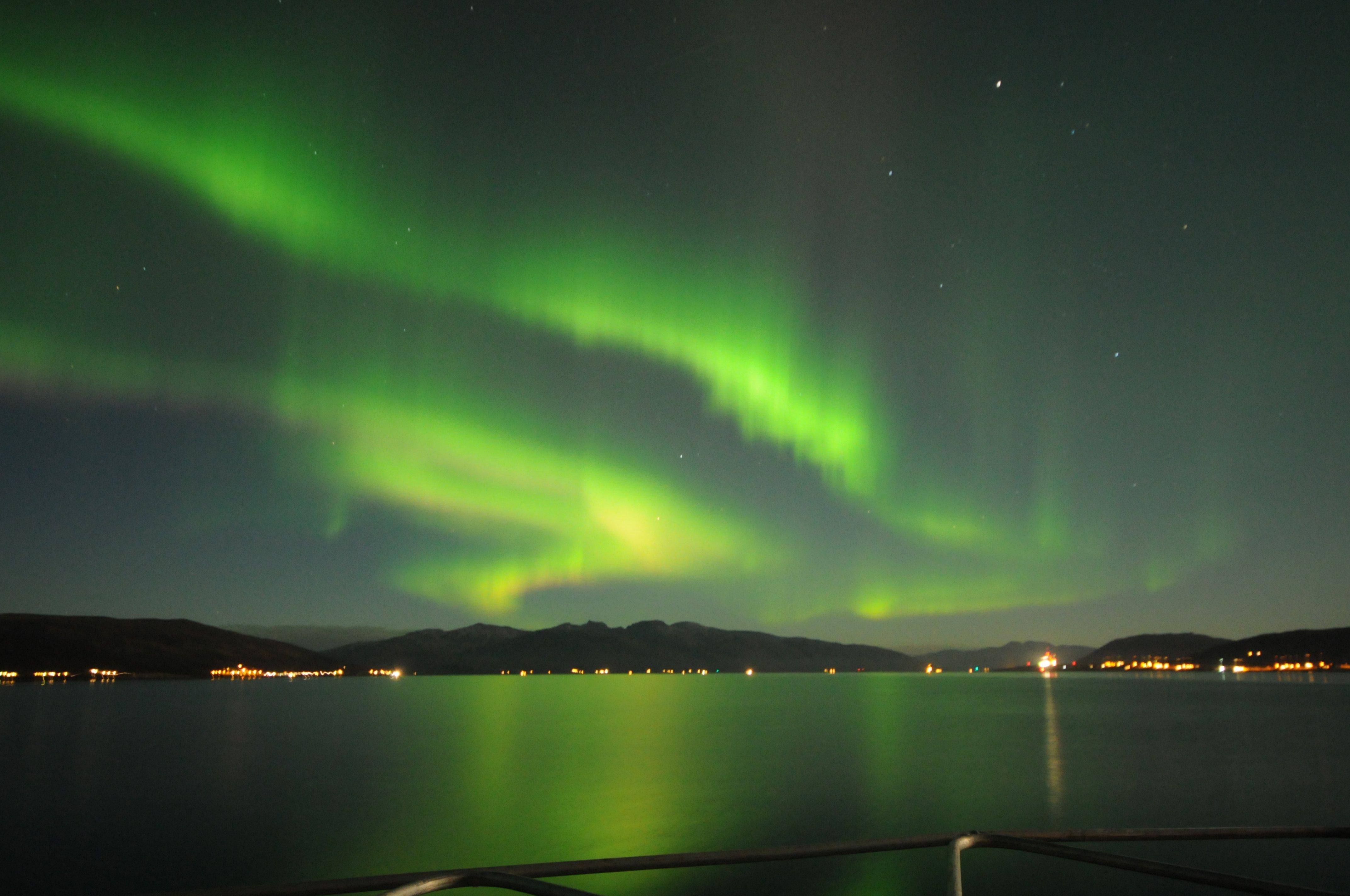 Privat Nordlys og kveldsturer med middag/julebord  i Tromsø