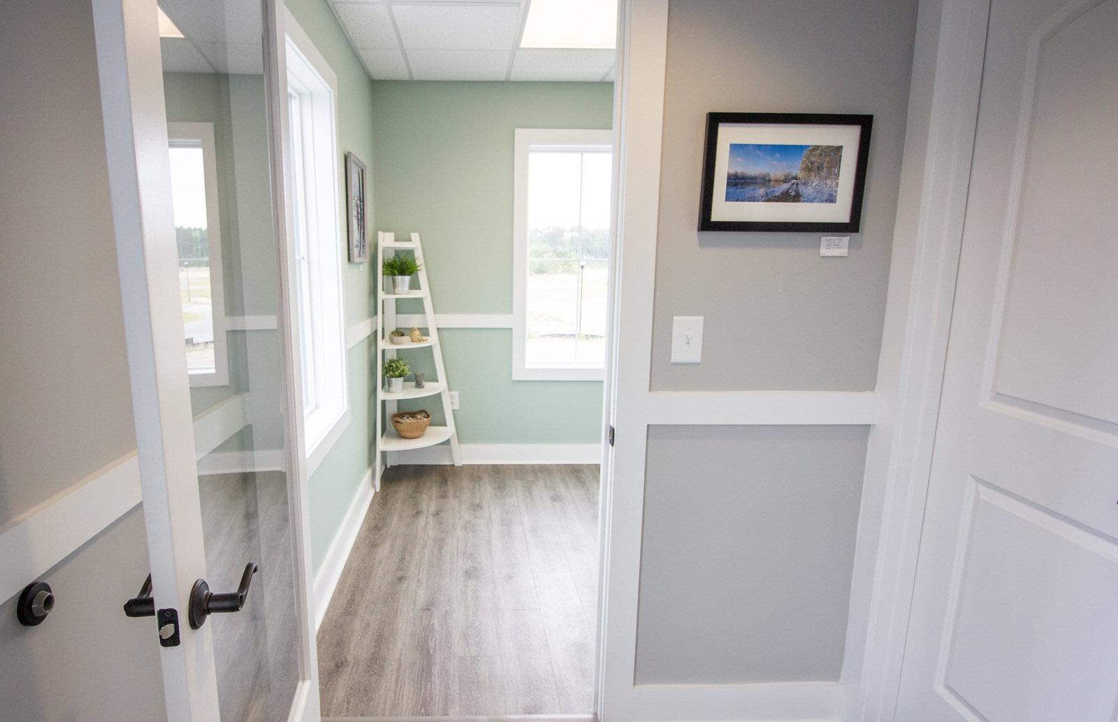The hallway in Buckwalter Dental Care