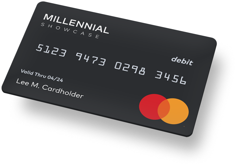 Millennial Showcase Prepaid Card Image