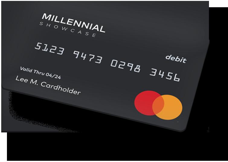Millennial Showcase Prepaid Card Image