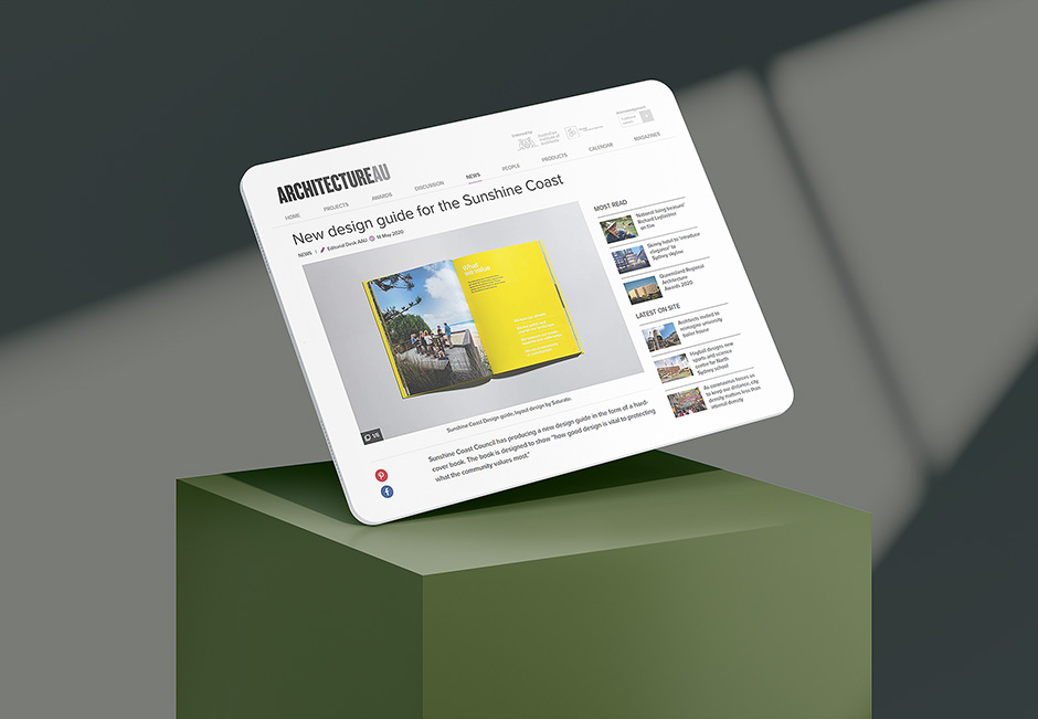 ArchitectureAU features our Design Manual