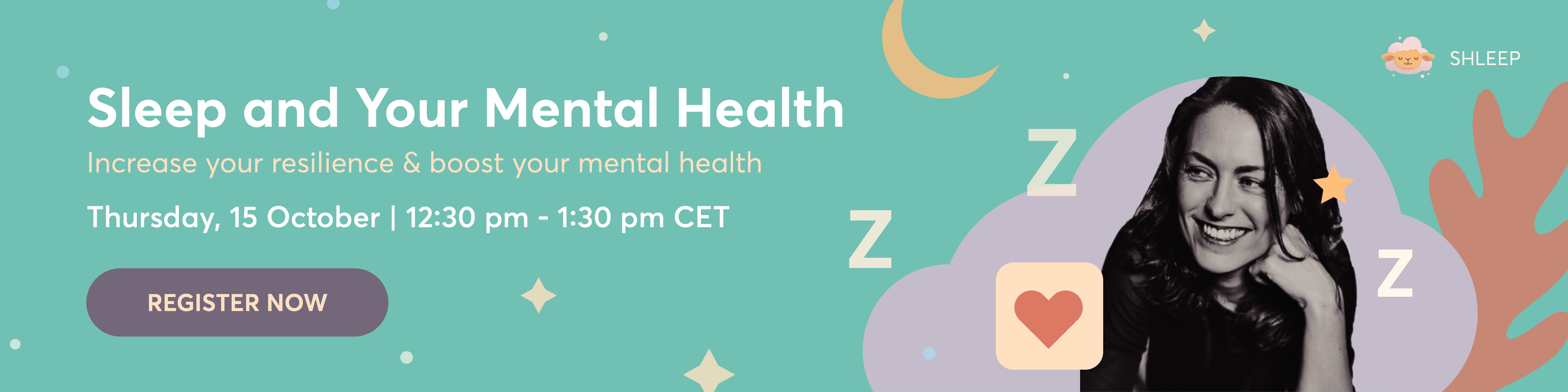 Sleep and your mental health webinar