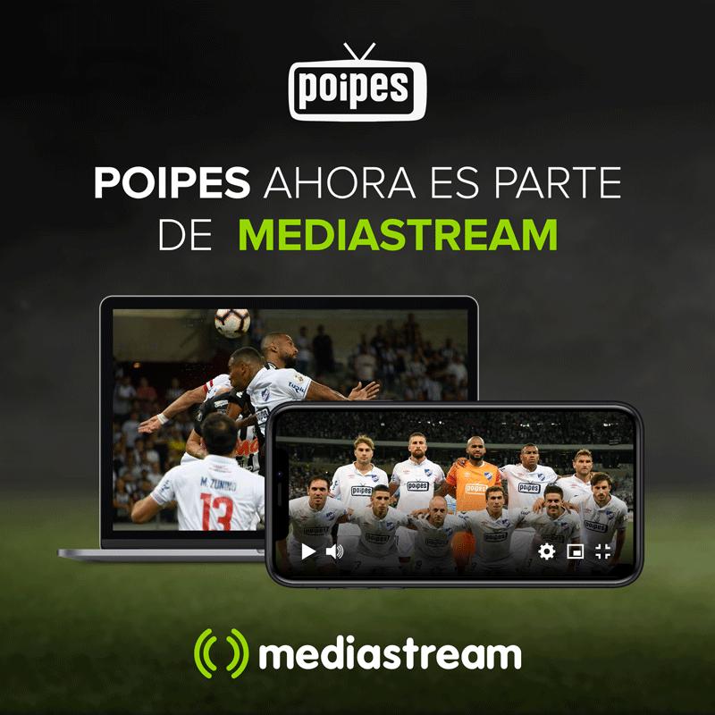 Poipes ahora es parte de Mediastream