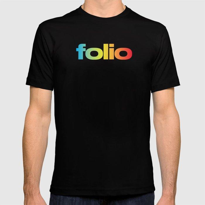 Folio Black T-Shirt