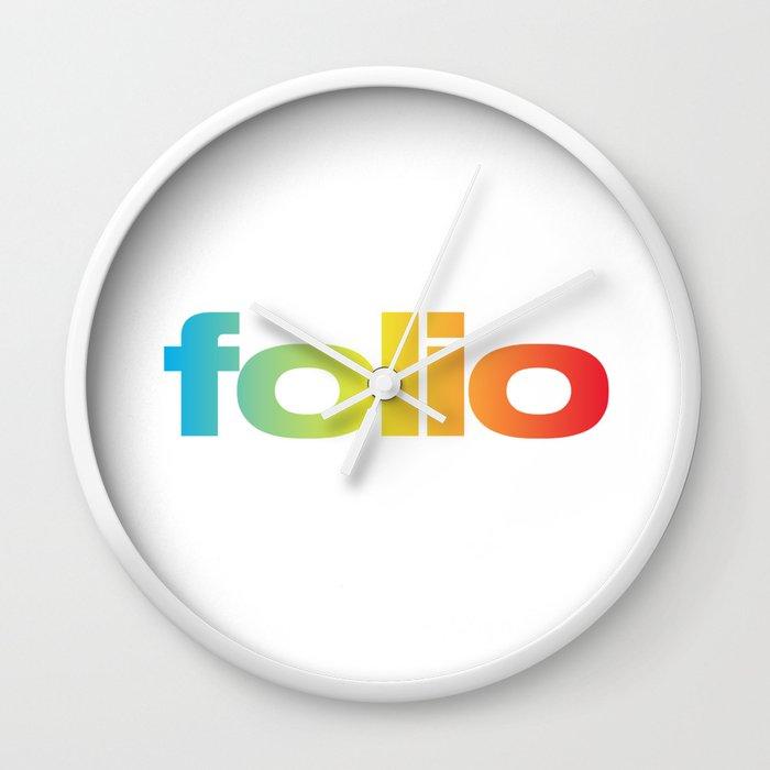 Folio Clock