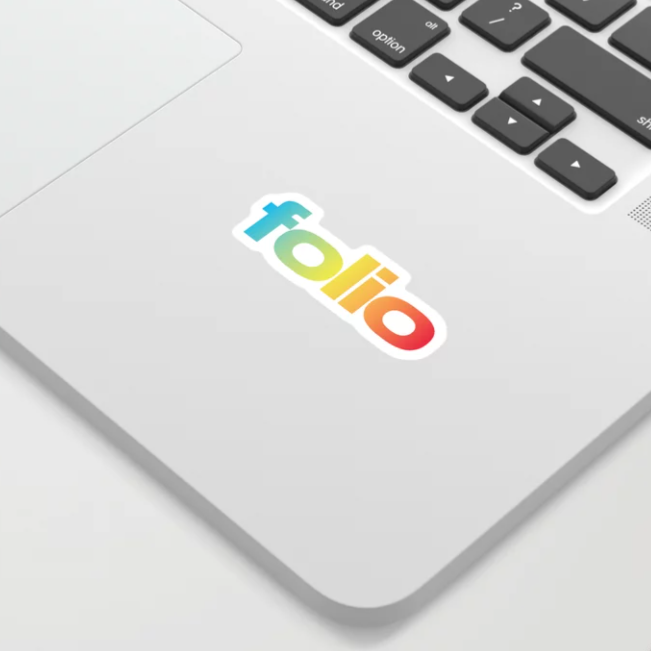 Folio Sticker
