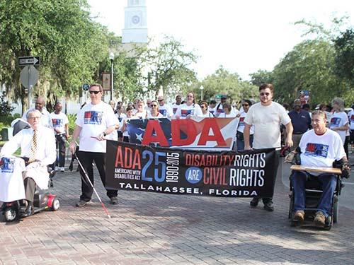 A Parade for the American Disabilities Act.