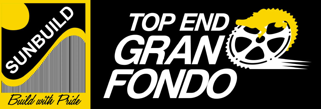 top end gran fondo logo in footer