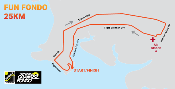 fun fondo course map