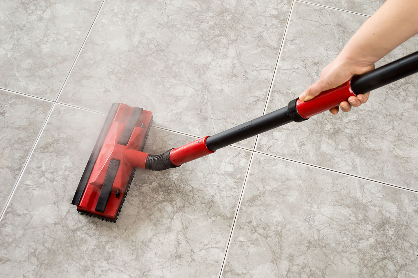 Tile and grout cleaning by Beyond Clean