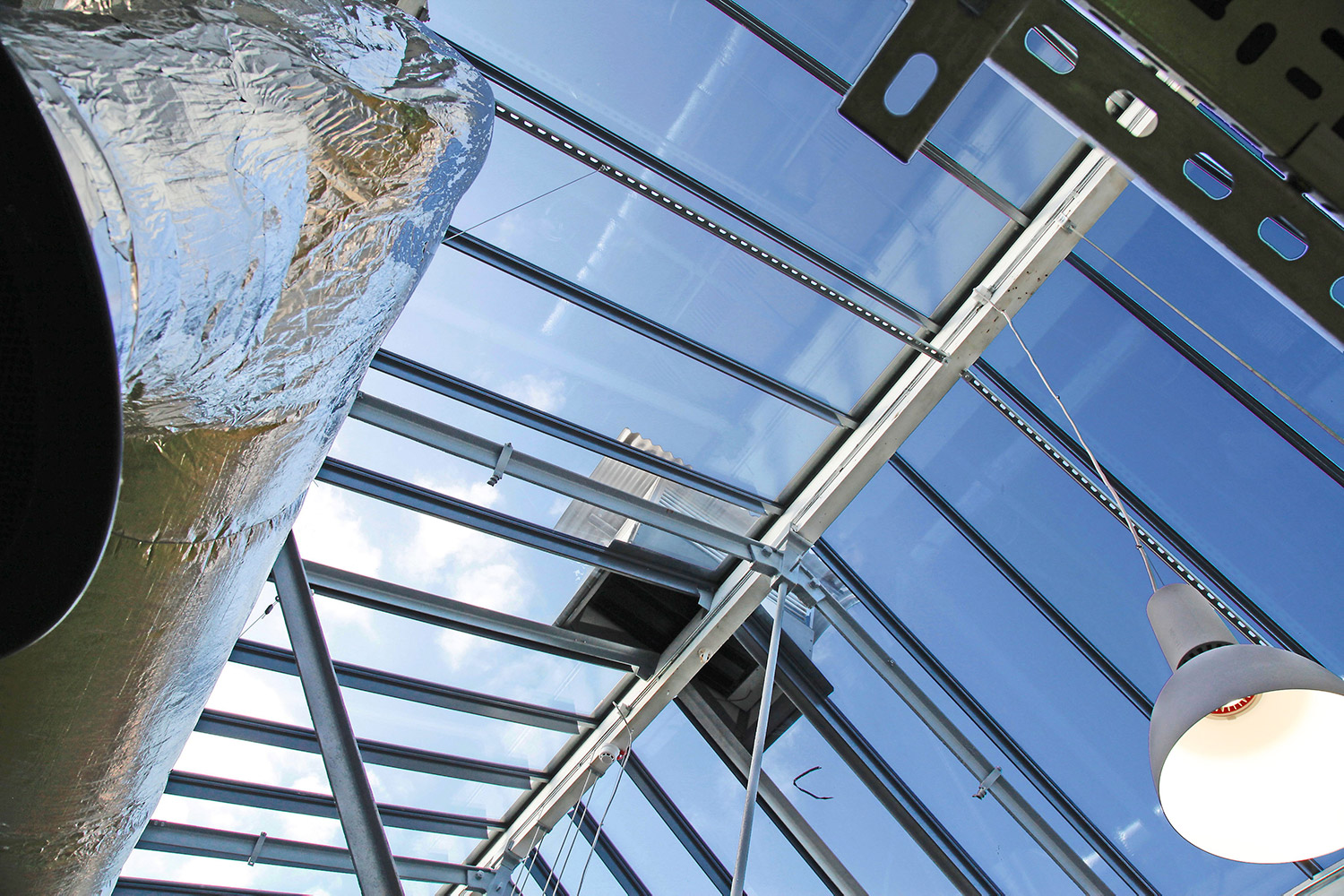 glass roof design in Swindon at Workshed design studio
