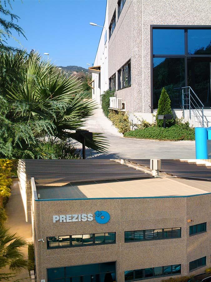 Preziss company plant in Montgat, Barcelona