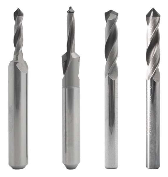 PREZISS solid PCD helical drills