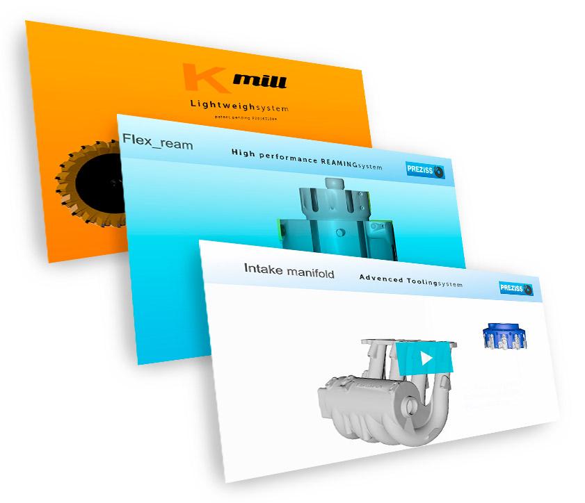 Vídeos y contenido multimedia PREZISS