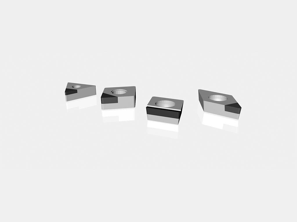 PCD ISO inserts by Preziss