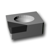 PCD ISO INSERT CCGW-POINT by Preziss