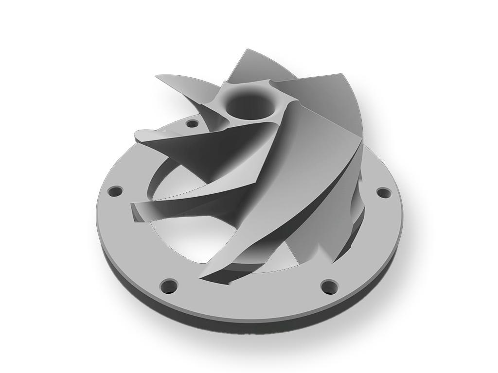 Preziss PRZ3D, 4140 chromoly steel propeller